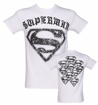 Men's Superman Gothic Logo T-Shirt from Jack of All Trades
