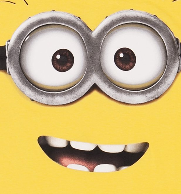 Men's Yellow Despicable Me Dave Minion T-Shirt