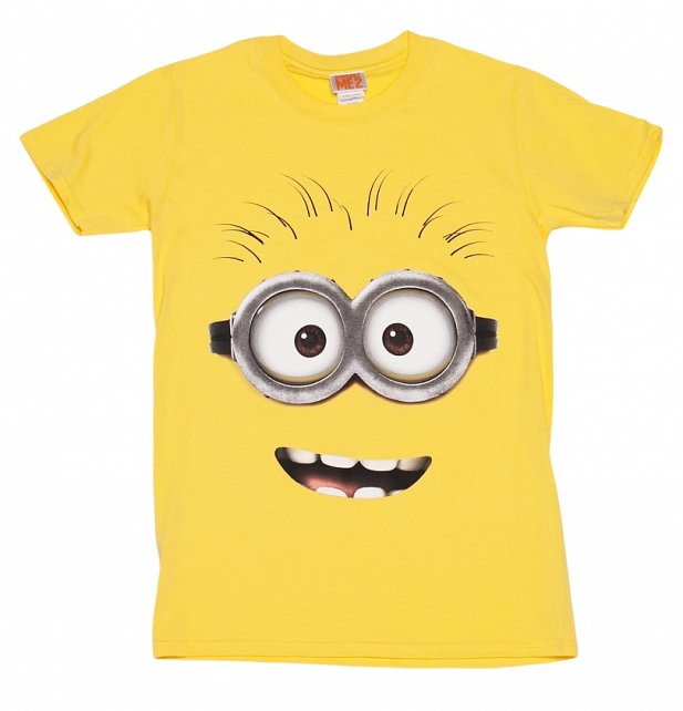 Yellow Despicable Me Dave Minion T-Shirt