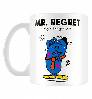 Mr Regret Mr Men Mug