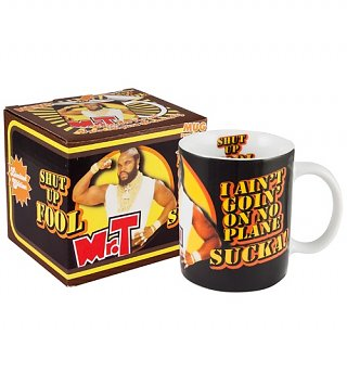 Mr. T Shut Up Fool Mug