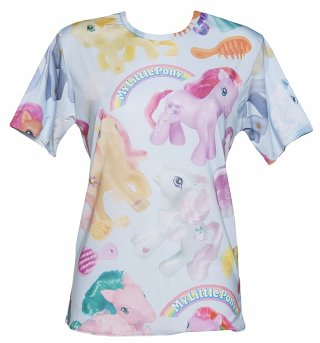 Unisex My Little Pony All Over Print T-Shirt