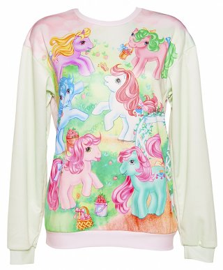 Unisex My Little Pony Vintage Scene Jumper