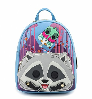 Pop by Loungefly Disney Pocahontas Meeko Flit Earth Day Cosplay Mini Backpack