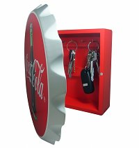 Retro Coca-Cola Bottle Cap Key Box