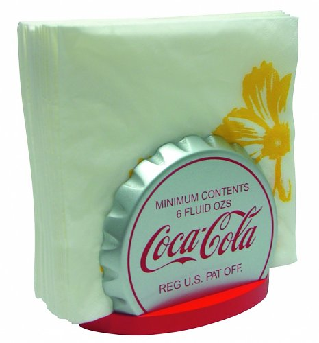 Retro Coca-Cola Lid Napkin Holder