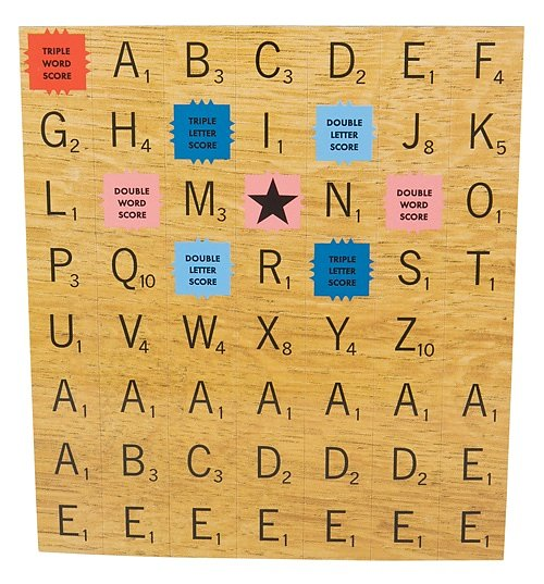 Scrabble Tile Fridge Magnets