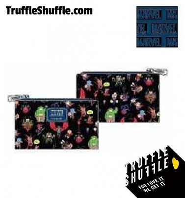 Loungefly Marvel Skottie Young Chibi Group Wallet