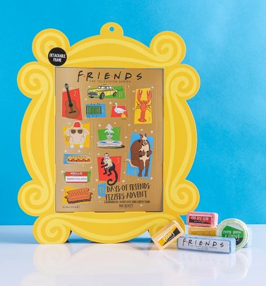 12 Days Of Friends Fizzers Advent Calendar