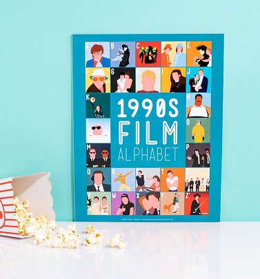 1990's Film Alphabet 11'' x 14'' Art Print