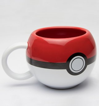 3D Pokemon Pokeball Mug