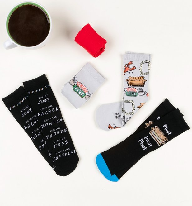 5pk Friends Socks