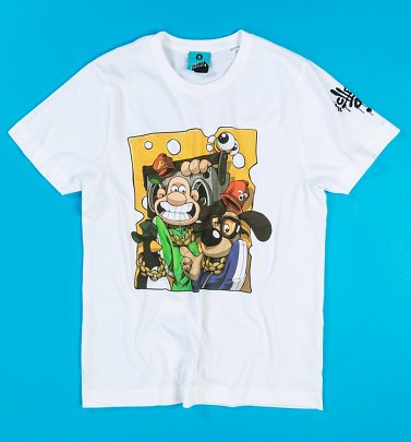 Aardman x Cheo Wallace And Gromit White T-Shirt