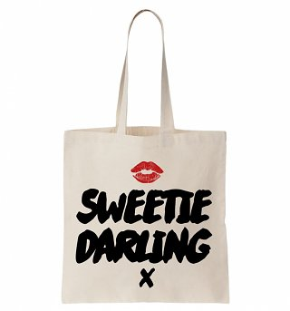 Ab Fab Sweetie Darling Tote Bag