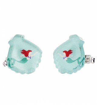 Acrylic Mermaid Stud Earrings from Punky Pins