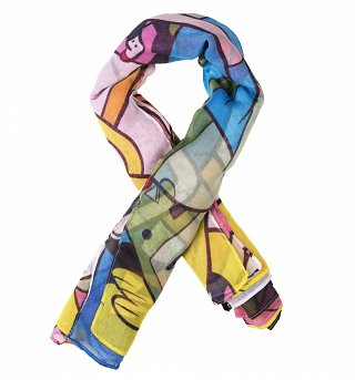 Adventure Time Characters Lightweight Scarf