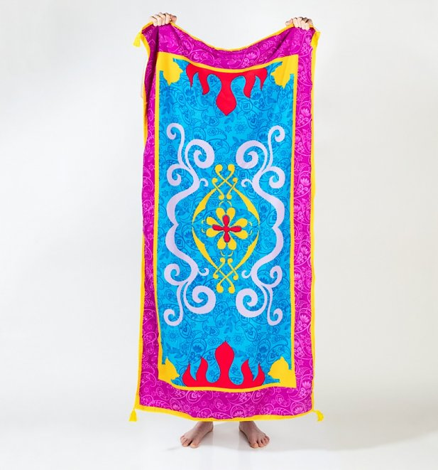 Aladdin's Magic Carpet Beach Towel