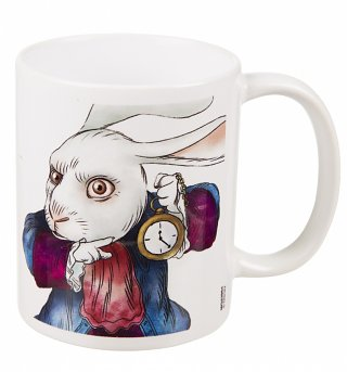 Alice Through The Looking Glass White Rabbit Time For Tea Mug