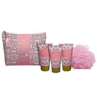 Alice in Wonderland Disney Weekend Wash Bag Set