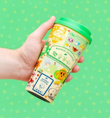 Animal Crossing Travel Mug