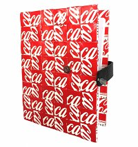 Artisan Coca-Cola Upcycled Notepad from Mitz