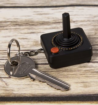 Atari 2600 Joystick Key Ring