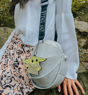 Baby Yoda Star Wars The Mandalorian The Child Carriage Crossbody Bag from Danielle Nicole