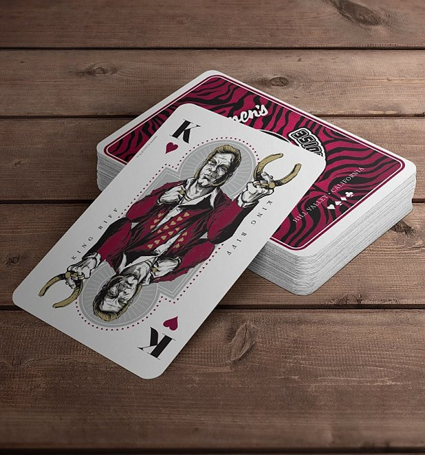 Back To The Future 2 Biff Playing Cards