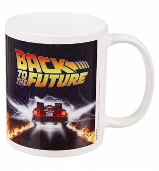Back To The Future Delorean Mug