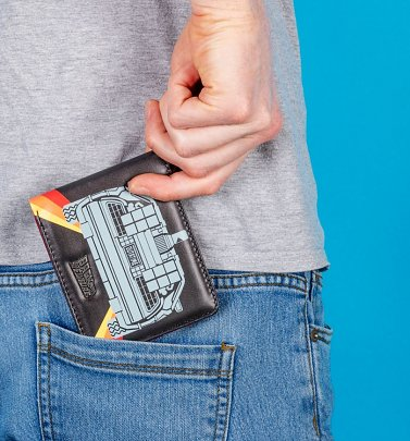 Back To The Future Delorean Wallet