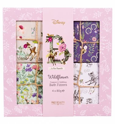 Bambi Disney Wildflower Bath Fizzers Set