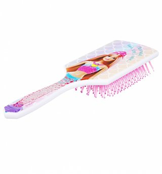 Barbie Mermaid Paddle Hair Brush