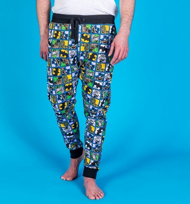 Batman DC Comics Cuffed Loungepants