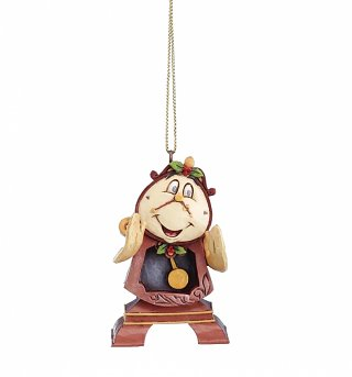 Beauty And The Beast Cogsworth Hanging Ornament
