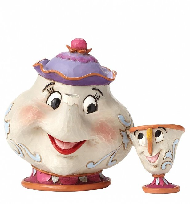 Beauty And The Beast Mrs Potts & Chip Figurine