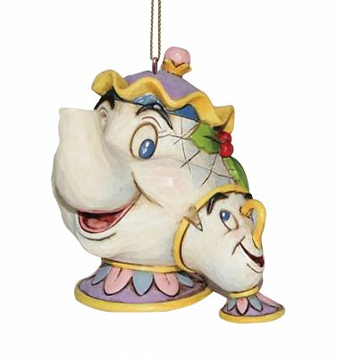 Beauty And The Beast Mrs Potts & Chip Hanging Ornament