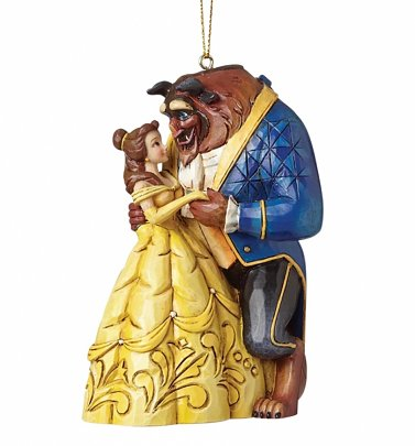 Beauty & The Beast Belle and Beast Dance Hanging Ornament