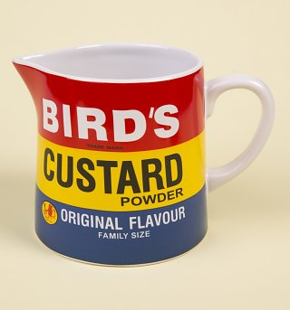 Bird's Custard Jug