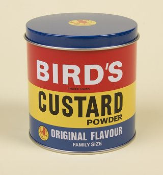 Bird's Custard Small Storage Tin