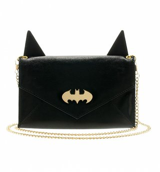 Black Batman Handbag With Ears