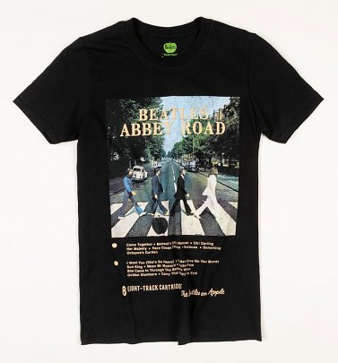 Black Beatles Abbey Road T-Shirt