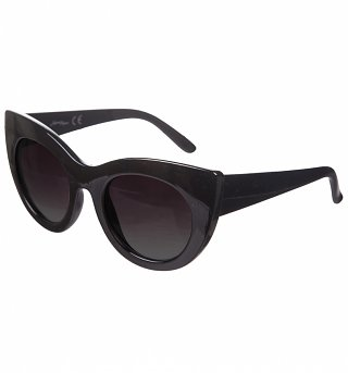 Black Cats Eye Sunglasses from Jeepers Peepers