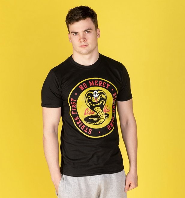 Black Cobra Kai Logo T-Shirt