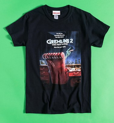 Black Gremlins 2 The New Batch Poster T-Shirt