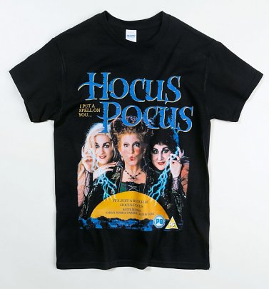 Black Hocus Pocus T-Shirt from Homage Tees