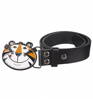Black Kellogg's Tony The Tiger PU Belt