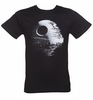 Black Star Wars Death Star T-Shirt from Dedicated