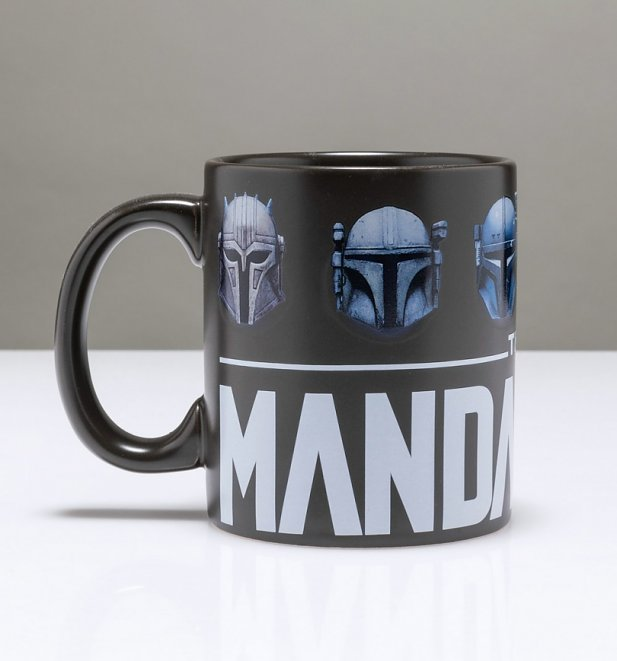 Black Star Wars Mandalorian Mug