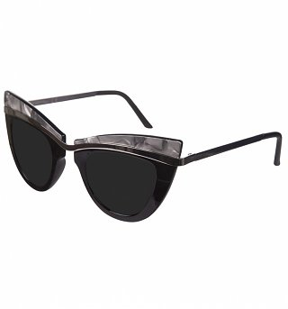Black Statement Cats Eye Sunglasses from Jeepers Peepers