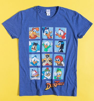 Blue DuckTales Squares T-Shirt